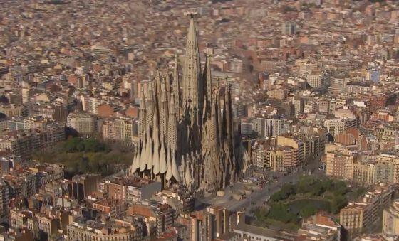 Sagrada Familia bi vidyoyeki hat bidawîkirin