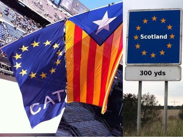Entegrasyona bi riya veqetînê: Katalonya û Skotland