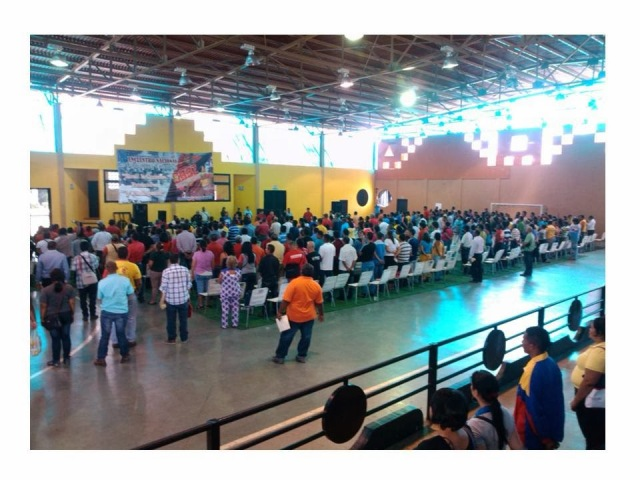 Konferansa aboriya komunal a li Venezûelayê