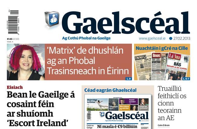 Rojnameya îrlandî ya înternetê tê damezrandin