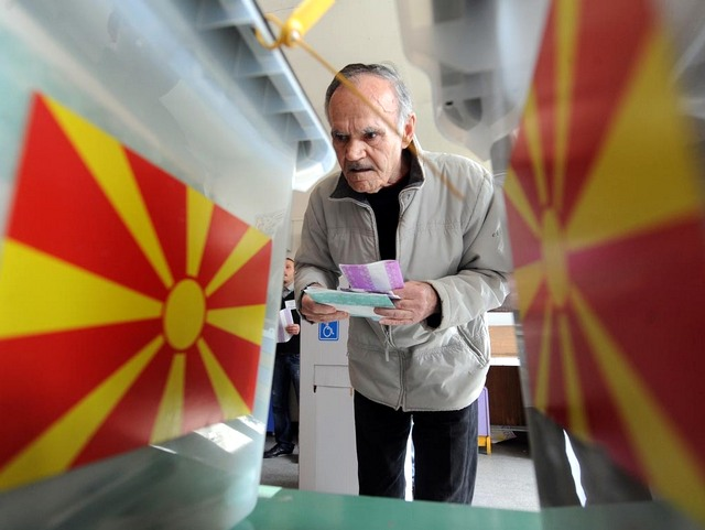 Macedonia Polling Station 123 by MIA