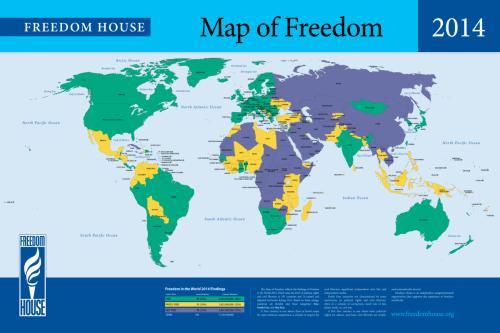 Freedom House: Tirkiye nîv-azad e