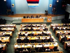parlamentoya sirban li bosnayê