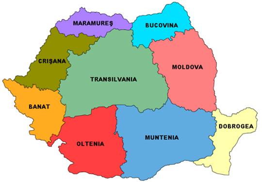 Li Romanyayê pêvajoya damezrandina herêman