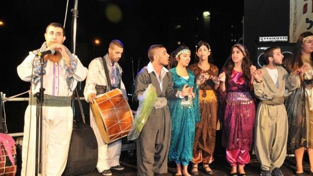 Serbilindiya çandî û mêvanên giranbuha yên festiwala cihûyên kurd