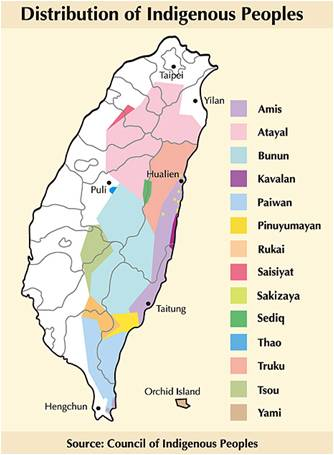 Taiwan-Indigenous-Peoples-distribution