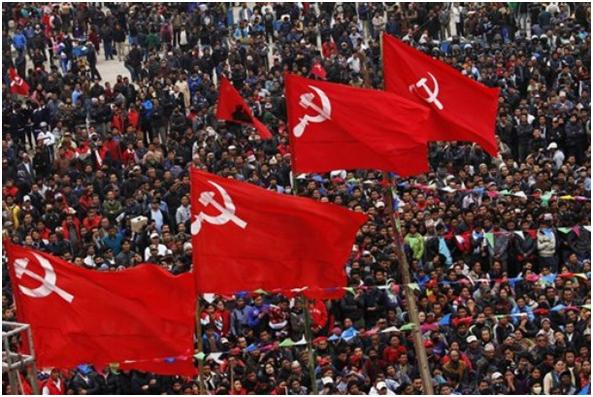 Windabûna şensê siyasî yê maoîstên Nepalê