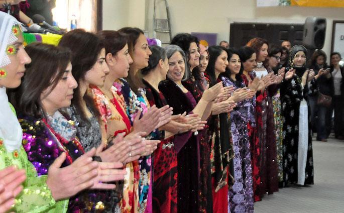 Partiya kêmar a kurd weki parazvanê şaredarên jin derdikeve holê