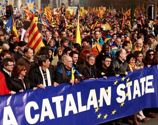 """Katalonya """"herêmeke serhildêr"""" e"""