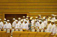 Berdevkên Senato û Parlamentoya Myanmarê nûnerên komên etnîk in