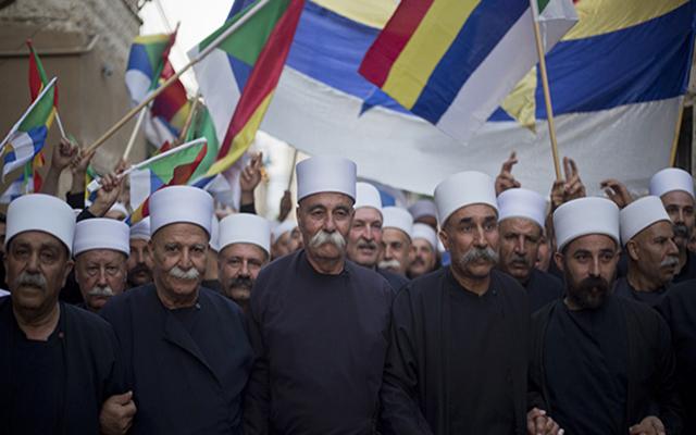 Mideast Israel Druze Syria