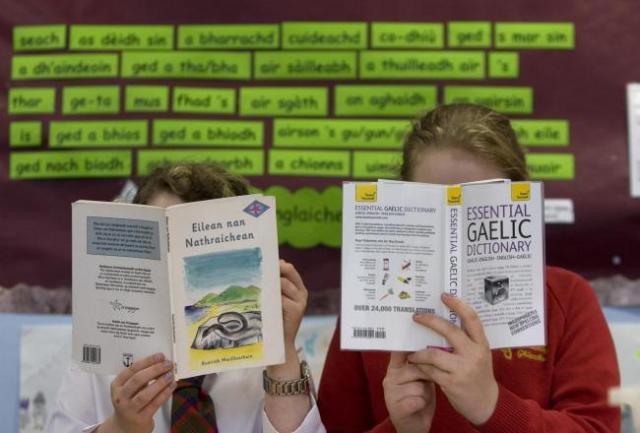 Skotland zimanê galîkî diparêze