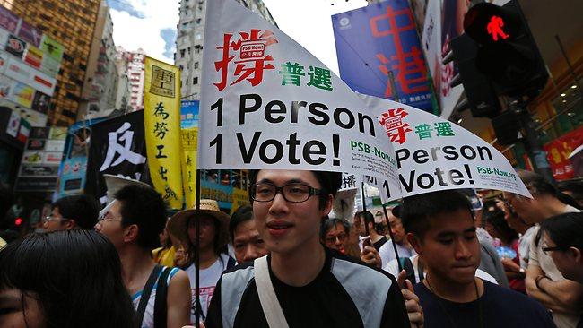 Çîn ji xweseriya Hong Kongê ne dilxweş e