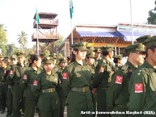 Komên etnîk û Myanmar dest bi hevdîtinên aştiyê dikin