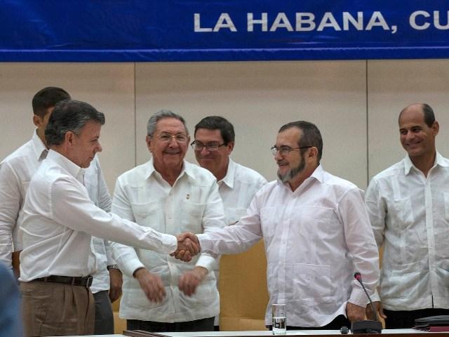 Kolombiya diyar kir ku peymana aştiyê ne dokumaneke temambûyî ye