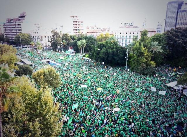 Li Balearê modela ziman hat protestokirin