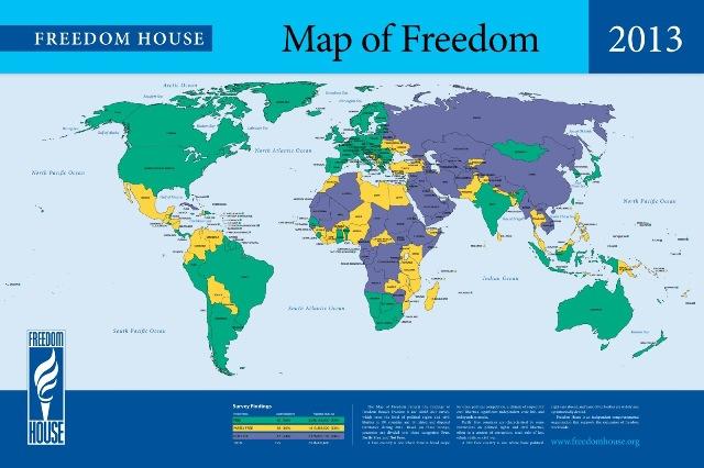 Rapora Tirkiyeyê ya Freedom Houseê