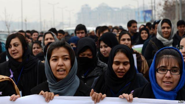 """""""Jiyana jinên afgan dikare û divê bê pêşxistin"""""""