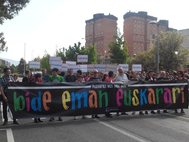 Xwepêşandana Pamplonayê ya ji bo zimanê baskî
