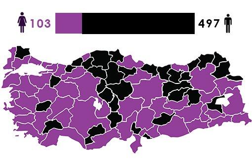 497 mêr û 103 jin bûne parlementer