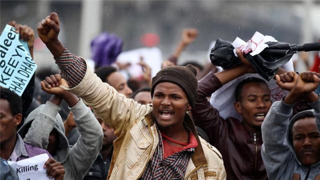Gelê oromo li Etiyopyayê li ser piya ye