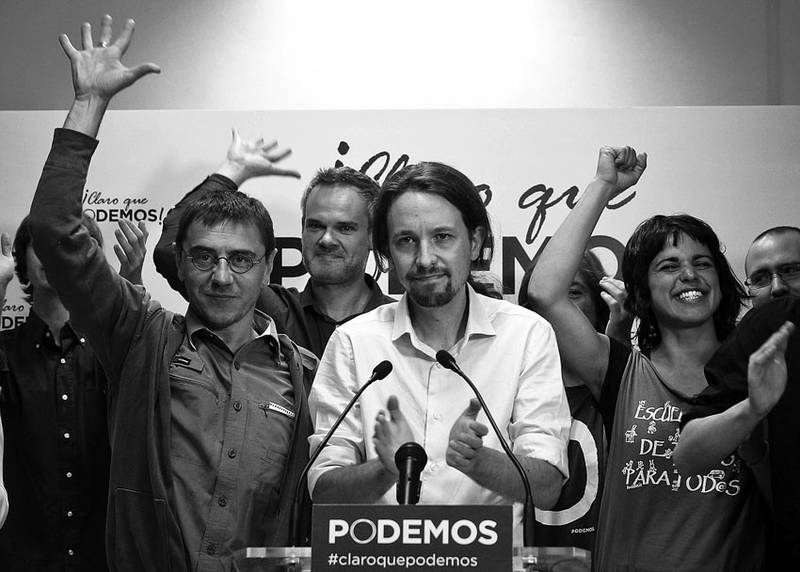 Li Spanyayê bilindbûna partiya Podemosê