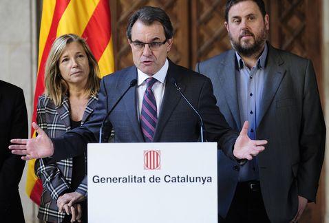 Katalonya di 2014'an de referandûma serxwebûnê li dar dixe