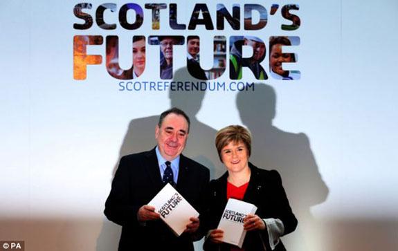 """Belgeya """"Pêşeroja Skotlandê"""" hat eşkerekîrîn"""